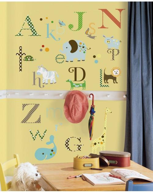 Naklejki - Zwierzęcy alfabet