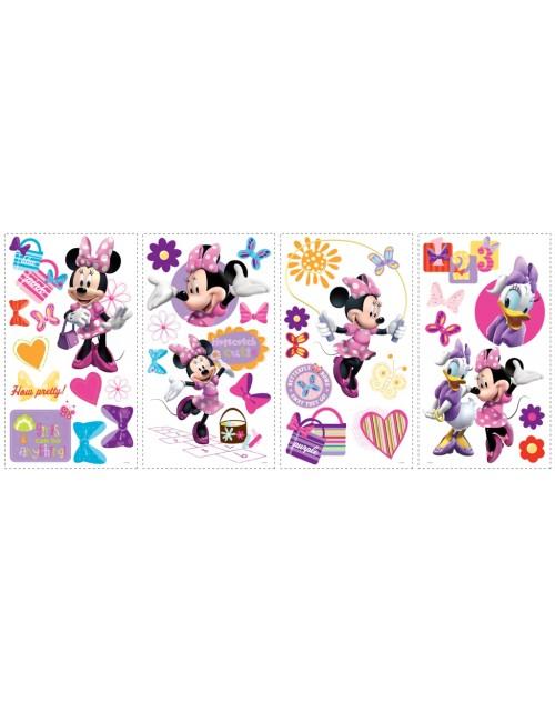 Naklejki - Minnie i Przyjaciele