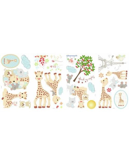 Naklejki - Żyrafa Sophie
