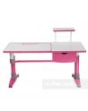 Ballare Pink- Regulowane Biurko