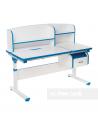 Creare blue - Regulowane biurko