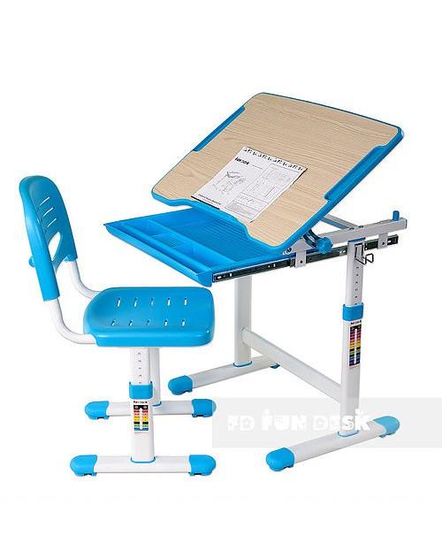 Piccolino Blue - Biurko dziecięce + Krzeselo