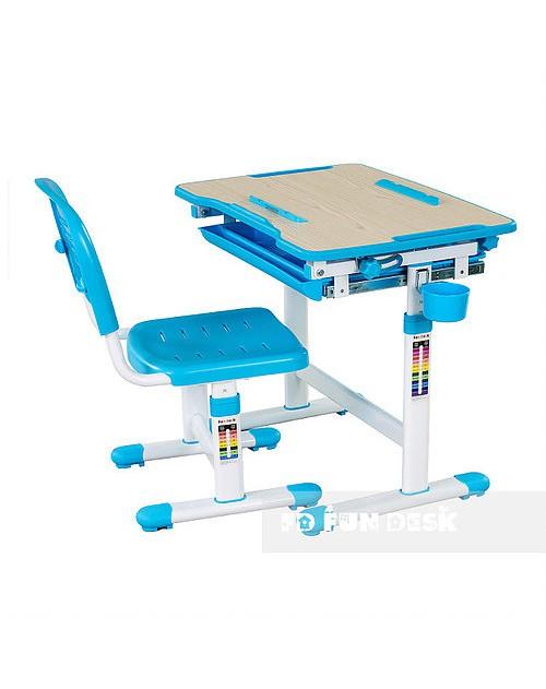 Bambino Blue - Biurko dziecięce + Krzeselo