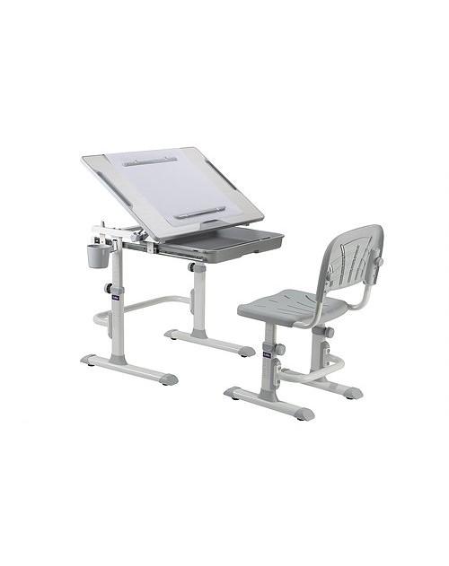 Cubby Karo Grey - Ergonomiczne biurko z krzesełkiem