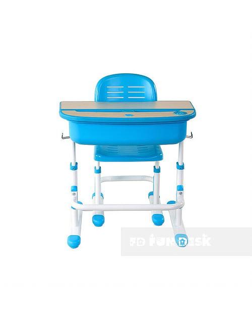 Capri Blue- Regulowane biurko z krzesełkiem