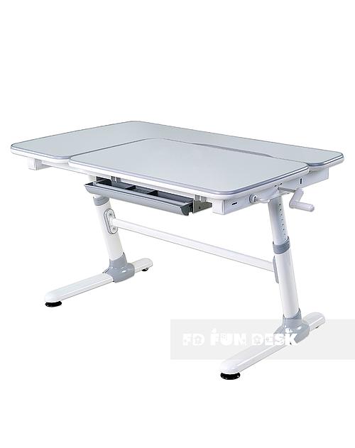 Invito Grey - Regulowane biurko dziecięce
