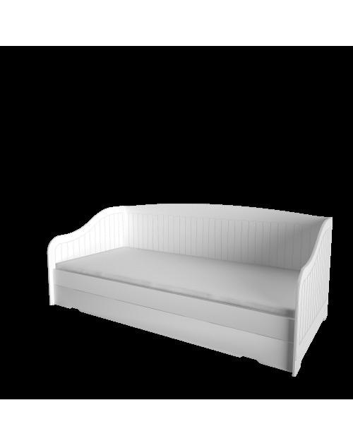 Province - Łóżko ROYAL II Białe