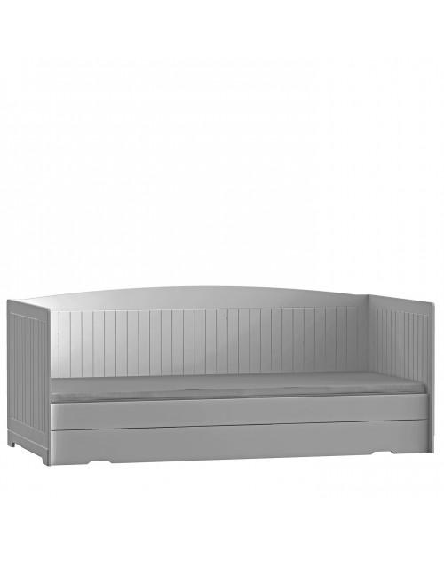 Province Grey - Łóżko ROYAL z szufladą