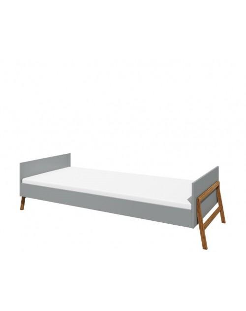 Lotta łóżko 90x200 grey