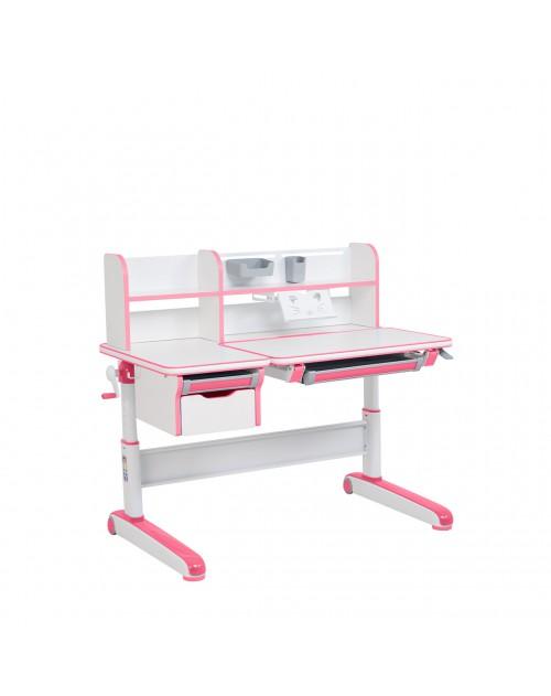 Libro Pink - Regulowane biurko dla dzieci i młodzieży