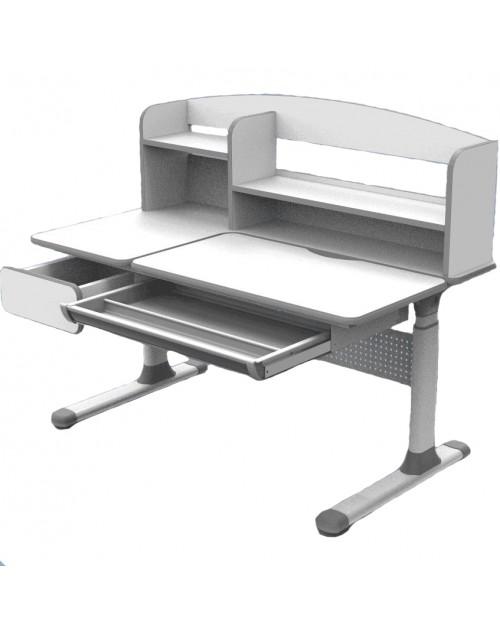 Cubby Rimu Grey - regulowane biurko Cubby