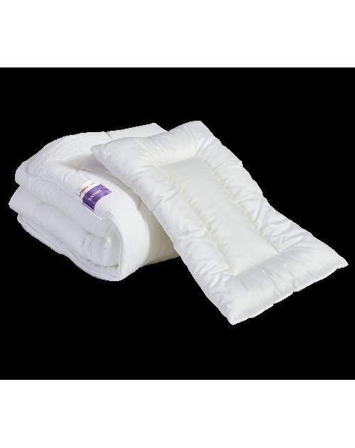 Satine - komplet: kołderka 135x100 + poduszka