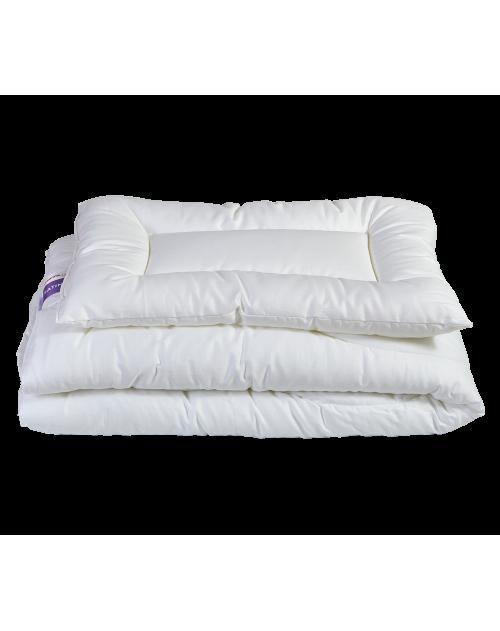 Satine - komplet 4 pory roku: kołderka 135x100 + poduszka