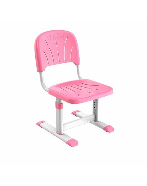 Miro Pink - Regulowane krzesełko dziecięce