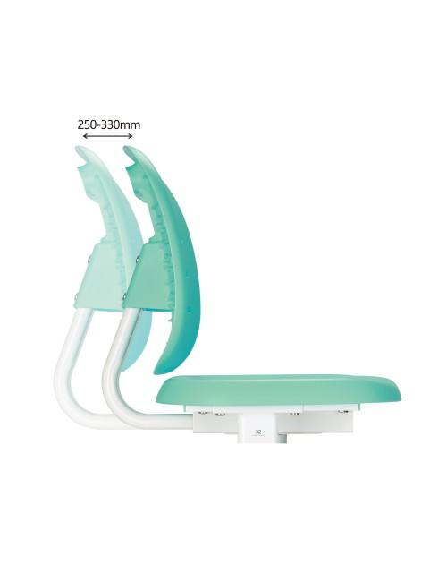 SST2 Green - Regulowane krzesełko dziecięce FunDesk
