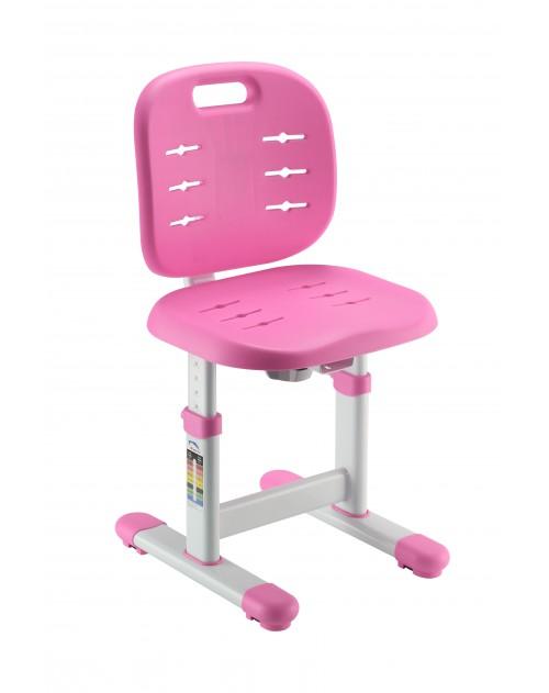 SST2-S Pink - Regulowane krzesełko dziecięce FunDesk