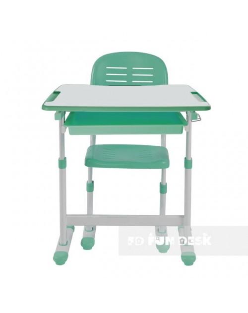 Piccolino Green - Biurko dziecięce + Krzeselo