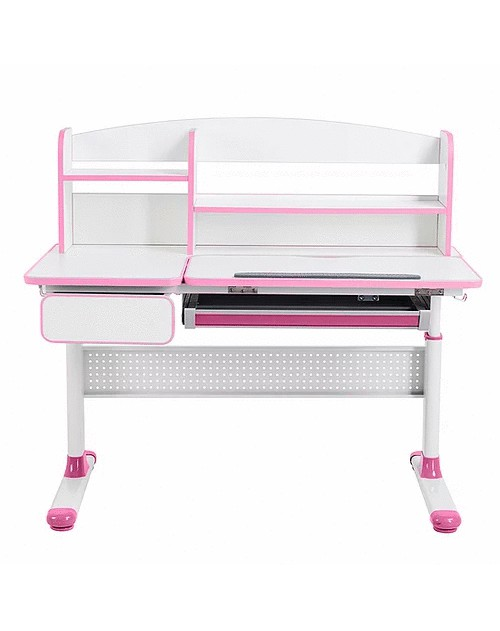 Cubby Rimu Pink - regulowane biurko Cubby
