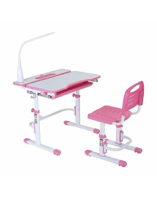 Botero Pink - Biurko z krzesełkiem dla dzieci