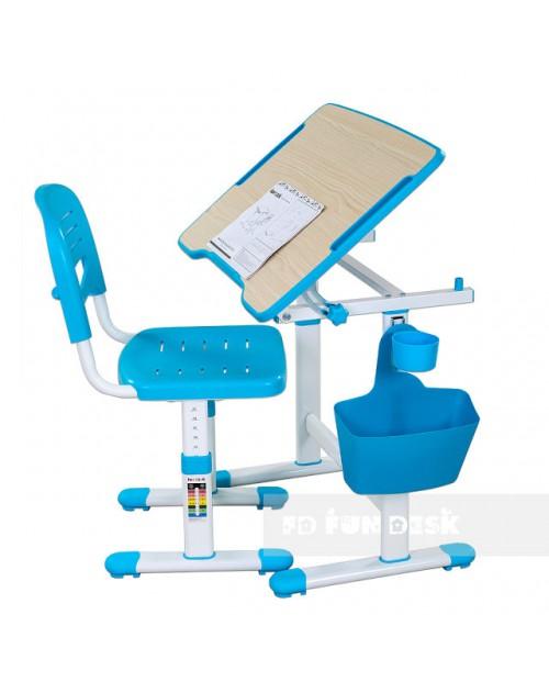 Piccolino II Blue - Biurko dziecięce + Krzeselo