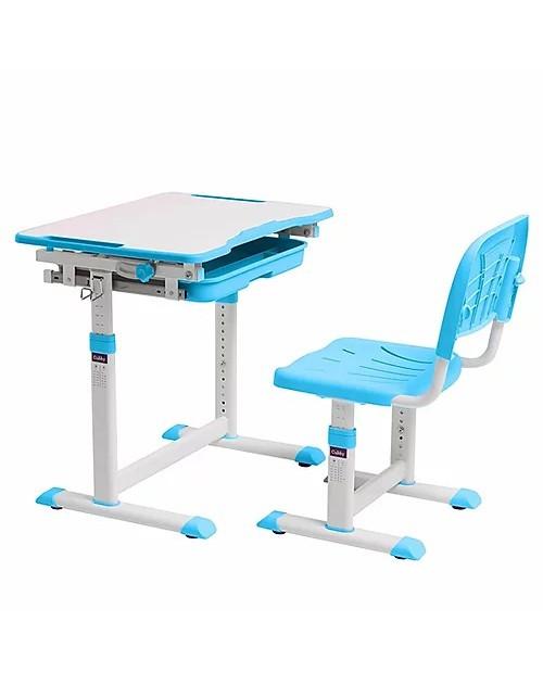 Cubby Sorpresa Blue - Regulowane biurko z krzesełkiem