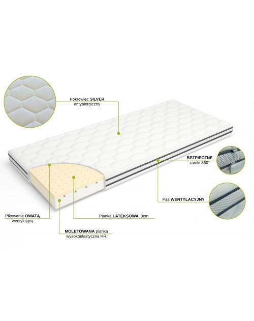Materac VentiLATEX 200x100 / 100x200