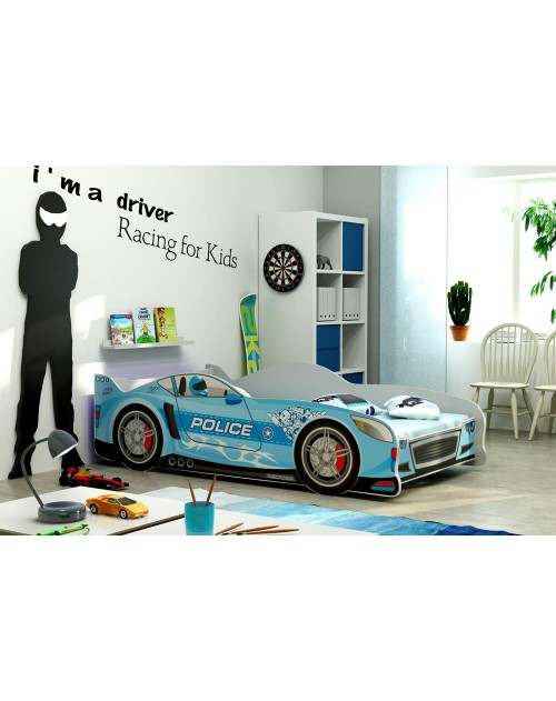 Łóżko parterowe CARS