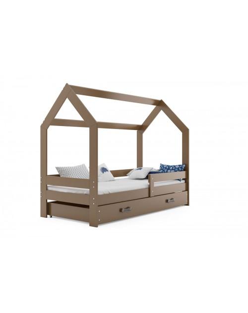 Łóżko parterowe DOMEK