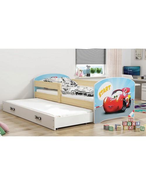 Łóżko 2-poziomowe LUKI