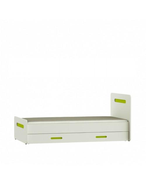 Białe meble Tooli Shift - Łóżko