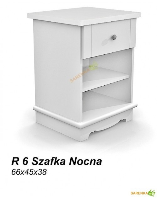 Szafka nocna Rose Pure White