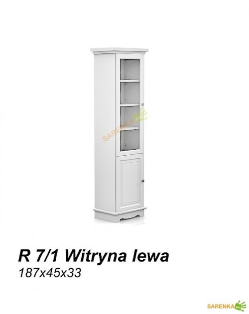 Witryna Rose Pure White