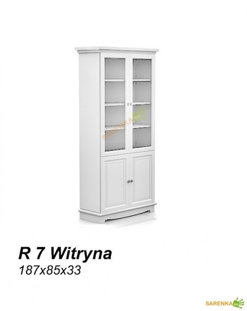 Witryna 2D Rose Pure White