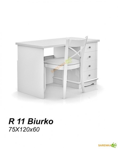 Biurko Rose Pure White R11