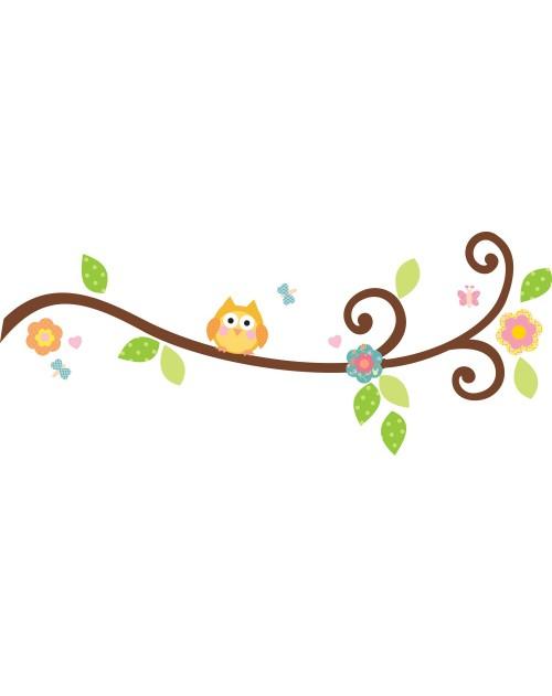 Naklejki - Kwitnąca gałązka