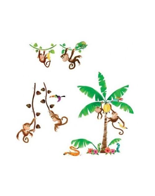 Naklejki - Małpki