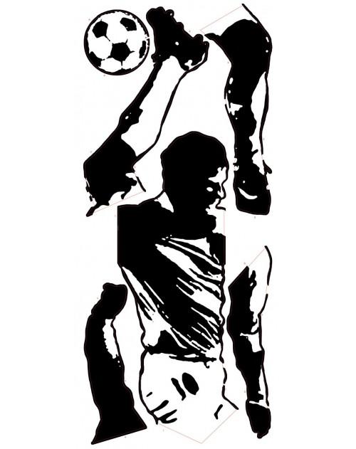 Naklejki - Piłkarz