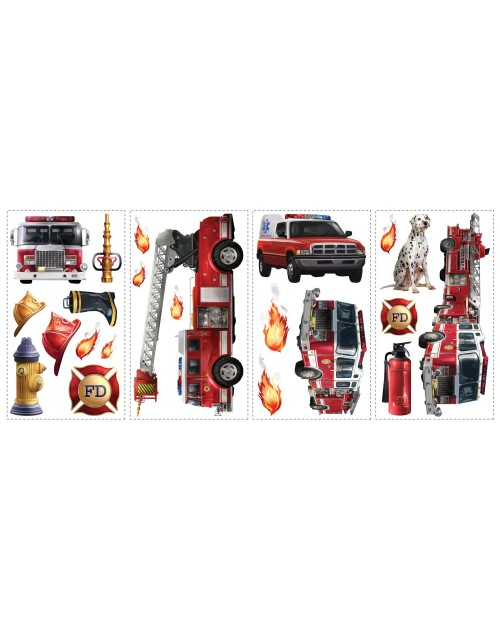 Naklejki - Straż pożarna