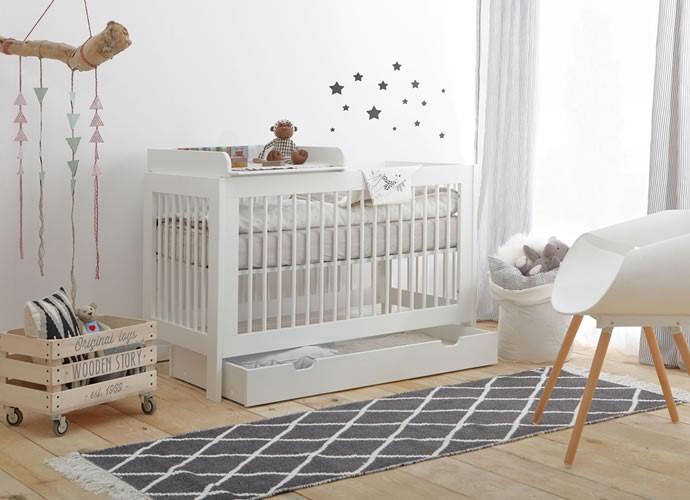 łóżeczko niemowlęce Pinio Baisc