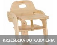 Meble dla dzieci krzesełka do karmienia