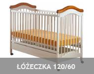 meble dla dzieci łóżeczka 120x60