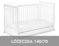meble dla dzieci łóżeczka 140x70
