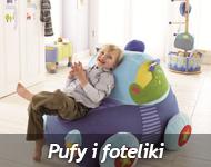 PUFY, FOTELIKI